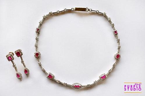 Gorgeous Delicate Princess Necklace Set