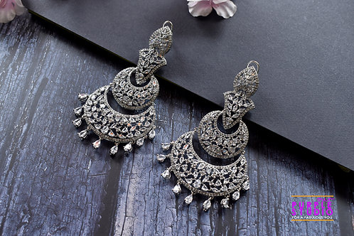 Exquisite Multi Layered AD Earrings