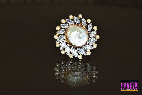 Enchanting Antique Pearl Ring