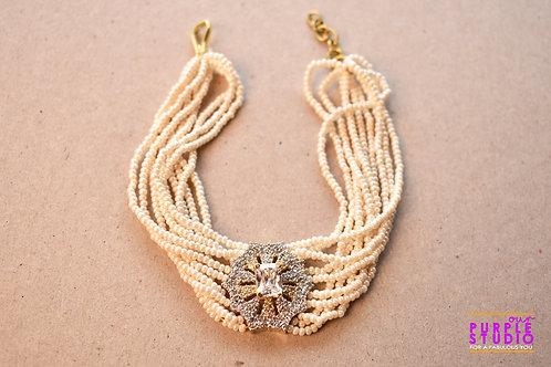 Flawless White Pearl Bracelet
