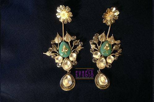 Hand Crafted Divine Love Earrings