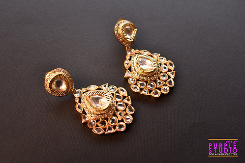 Royal Charm Kundan Earring