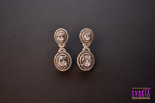 Double Star Studded Earrings
