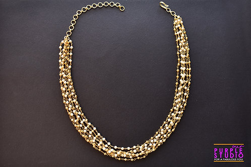 Delicate Multistrand Necklace