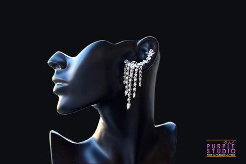 Sparkling Indo Western CZ Ear Cuff