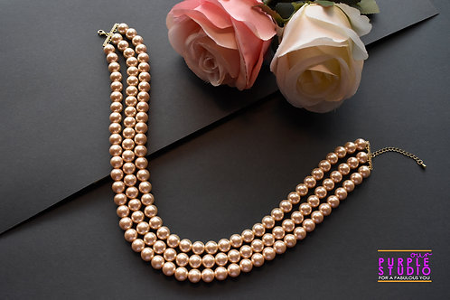 Gorgeous Indo Western Off White Pearl Choker