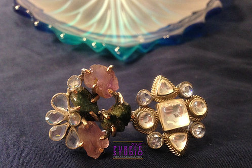 Pure Handcrafted Romance Ring
