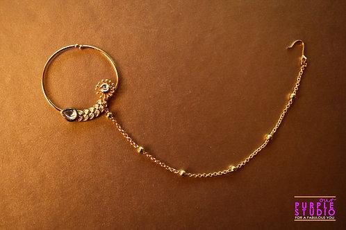 Bridal Golden Naath