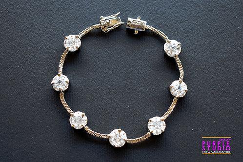 Sparkling AD Stone Bracelet