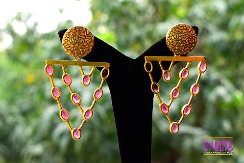 Gorgeous Golden Earrings