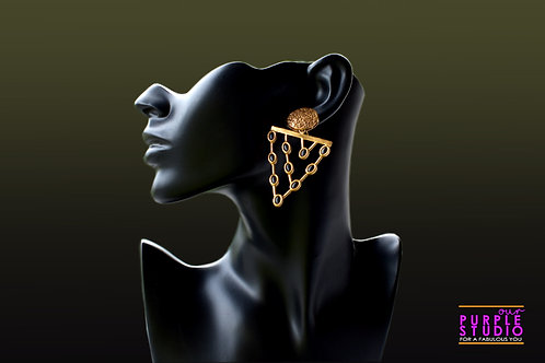 Gorgeous Golden Earrings