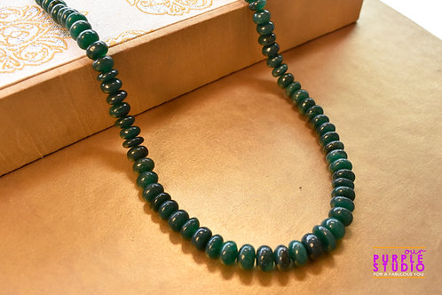 Green Onyx  Indo Western Necklace