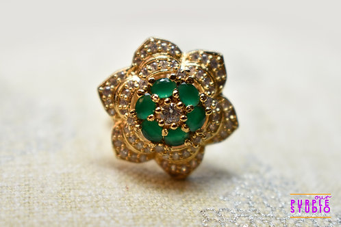Emerald Star Ring