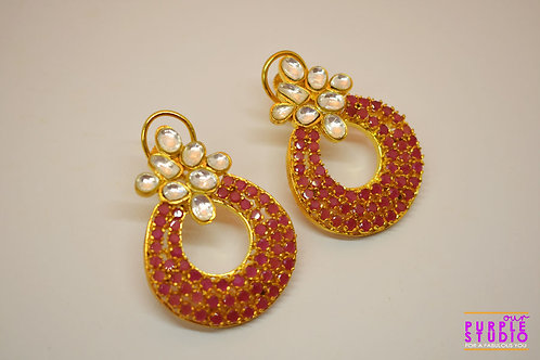 Envious Pink Charming Earring