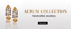 aurum collection website banner
