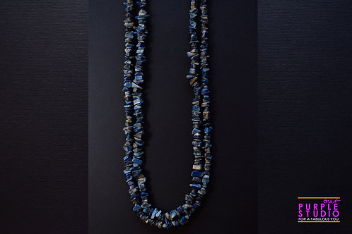 Youthful Blue beaded Necklace