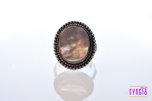 Adjustable Antique Oval Ring