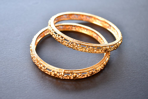 Beautiful Pair of Golden Bangles