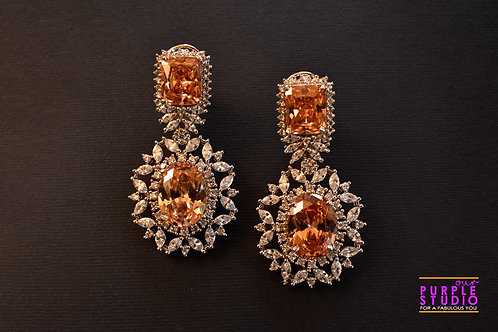 Sparkling Champagne Cocktail Earring