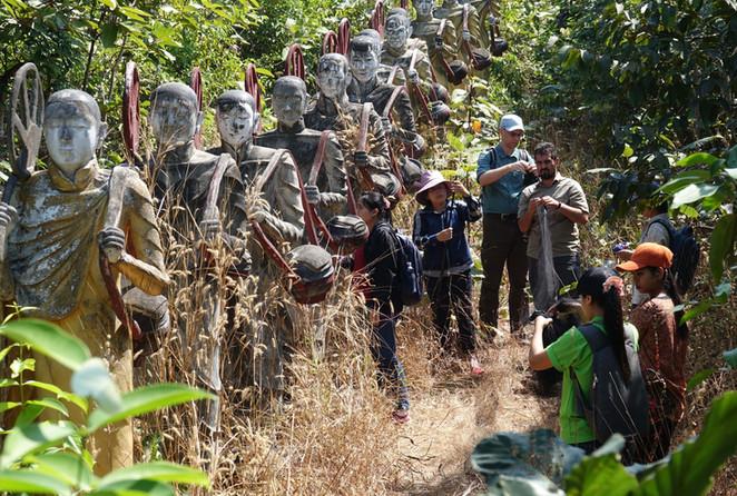 Field training in Mawlamyine, Myanmar