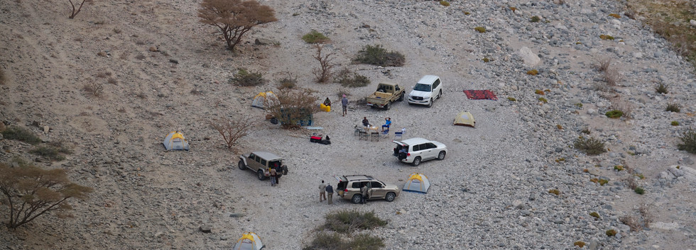 Expedition camp, Oman