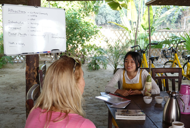 Discussing aspects of ecotourism