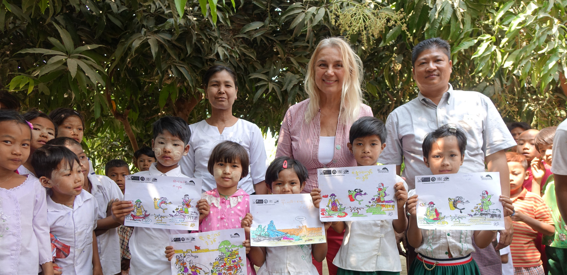 Training children in environmental protection