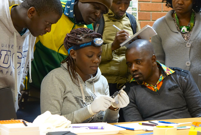 Building capacity in biodiversity science