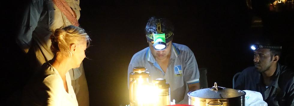 Field work in Oman