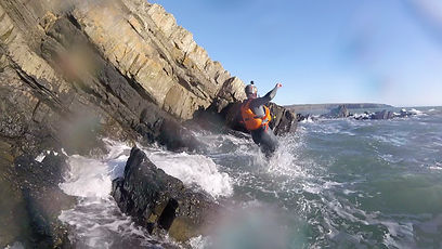 Coasteering in wales with adrenalin addicts outdoor adventures activities