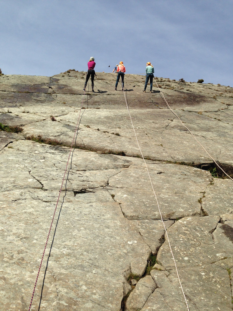 Abseiling With Adrenalin Addicts