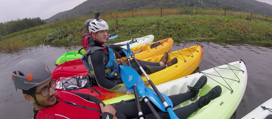 Kayaking Special 21st - 25th May This is a special offer at only £35pp.