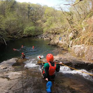 Canyoning Adrenalin Addicts North Wales