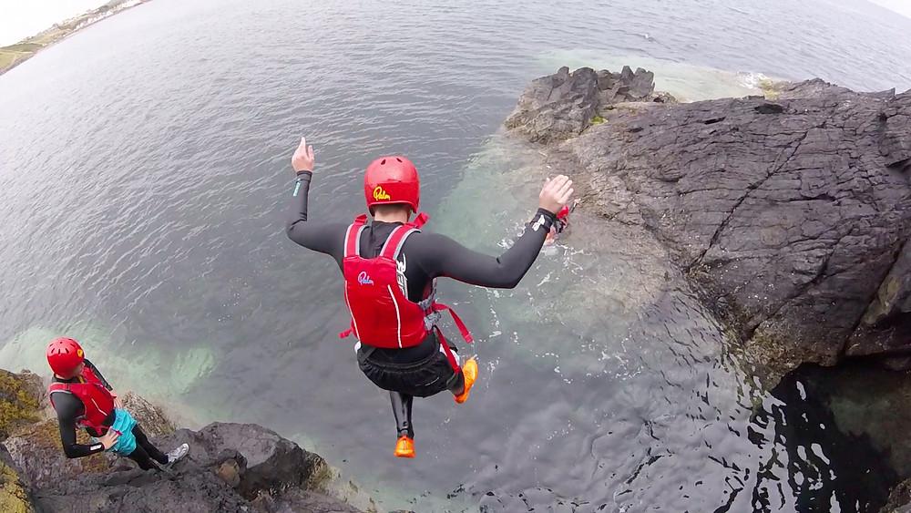 Coasteering North Wales with Adrenalin Addicts