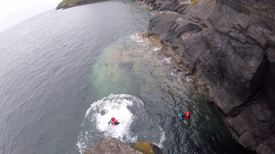 Coasteering North Wales