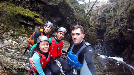 Adrenalin Addicts Outddor Adventures Canyoning