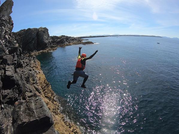 Coasteering with Adrenalin Addicts