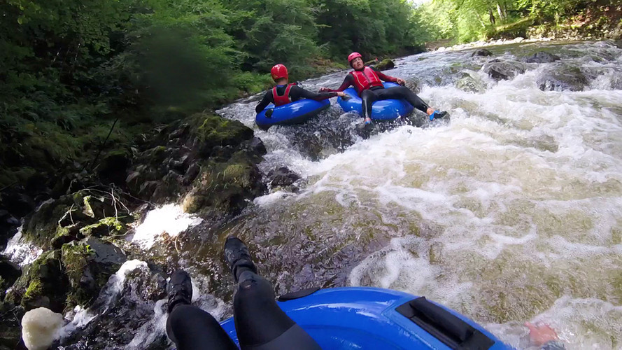 Whitewater Tubing Adrenalin Addicts