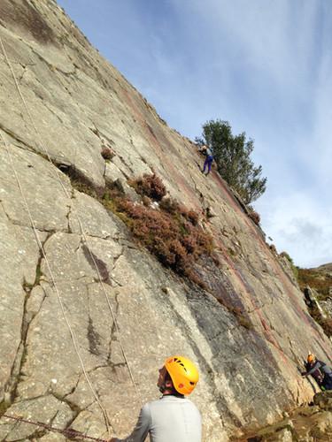 Rock Climbing North Wales