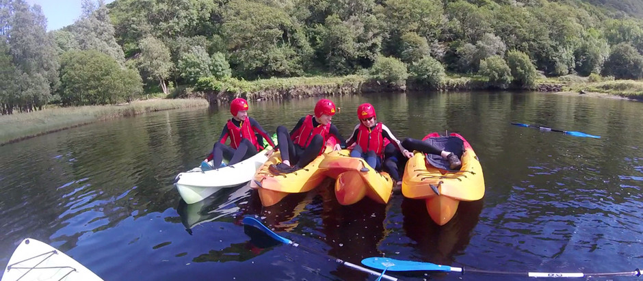 March Kayaking Adventure Only £25pp