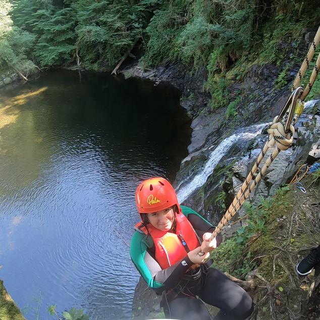 Canyoning Adrenalin Addicts North Wales 142.JPG