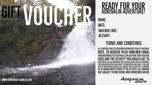 Adrenalin Addicts Gift Vucher