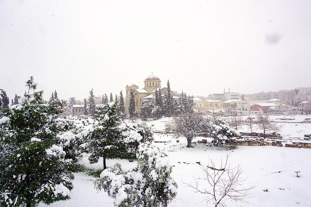 Ancient Kerameikos in Athens