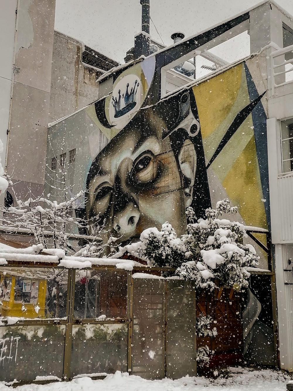 street art by Ino