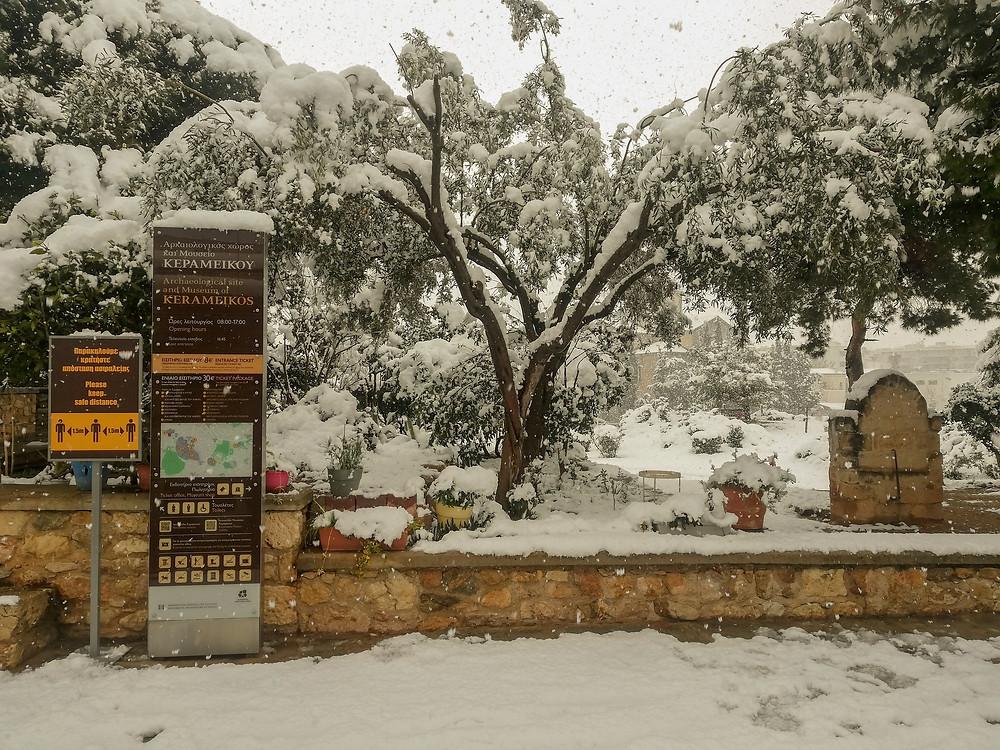 Kerameikos cemetery of Athens
