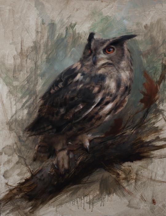 """""""Eurasian Owl"""""""