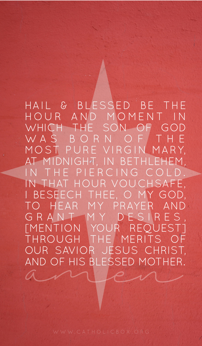 Catholic Box Lock Screen