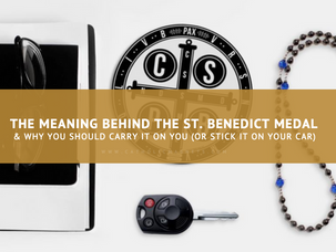 The meaning behind the St. Benedict Medal