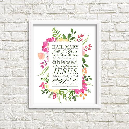 The Hail Mary -