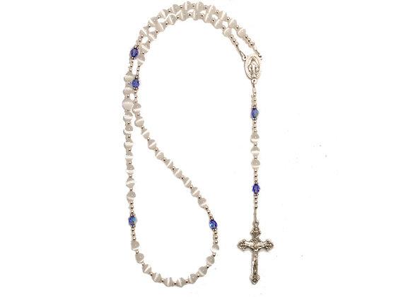 """""""Baby Boy"""" Swarovski Crystal Rosary"""